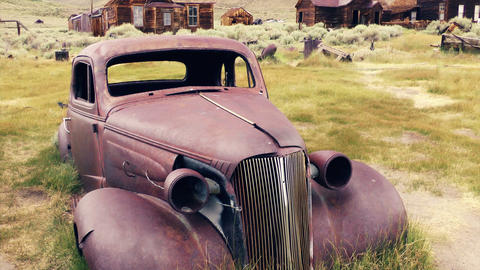 Antique Car Stock Video Footage