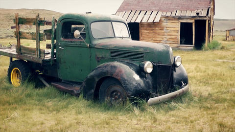 Old Truck Stock Video Footage