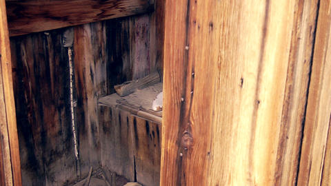 Outhouse Stock Video Footage