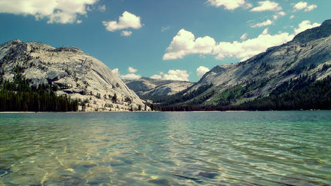 Tenaya Lake Time Lapse Footage