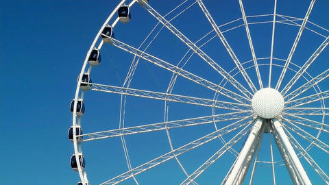 The Seattle Great Wheel Stock Video Footage