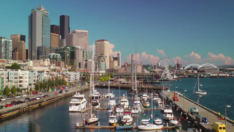 Seattle Waterfront Footage