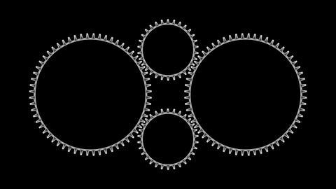 Gears 3 12 Stock Video Footage