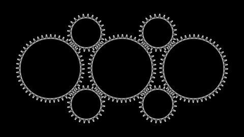Gears 3 30 Stock Video Footage