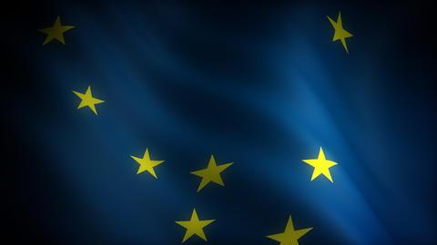Flag of Alaska Stock Video Footage
