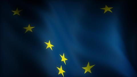 Flag of Alaska Animation