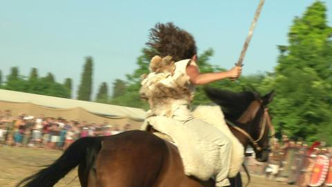 celt roman attack 34 Stock Video Footage