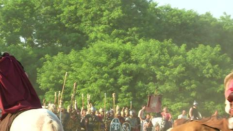 celt roman cavalry 04 Footage