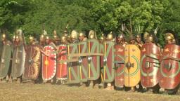 celt roman fight 21 Stock Video Footage