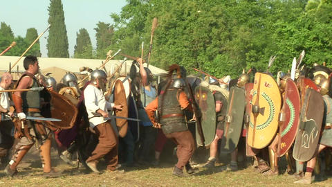 celt roman fight 52 Footage