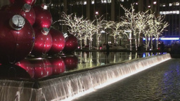 Christmas in Manhattan Stock Video Footage