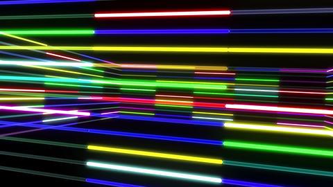 Neon tube R b A 1 HD Stock Video Footage