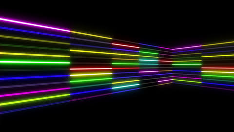 Neon tube R b C 1 HD CG動画