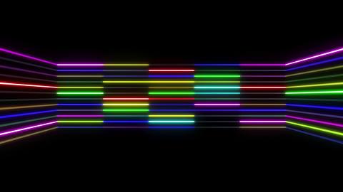 Neon tube R b D 1 HD Stock Video Footage