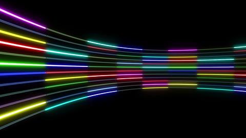 Neon tube R c C 1 HD Stock Video Footage