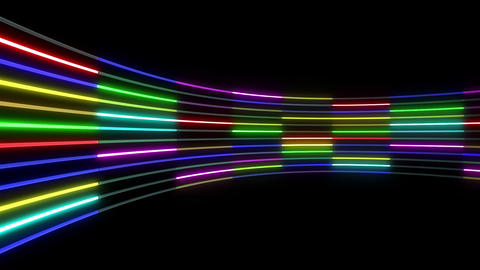 Neon tube R c C 1 HD Animation