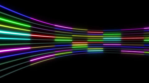 Neon tube R c C 1 HD Stock Video Footage