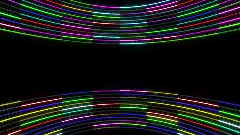 Neon tube R c E 1 HD Stock Video Footage