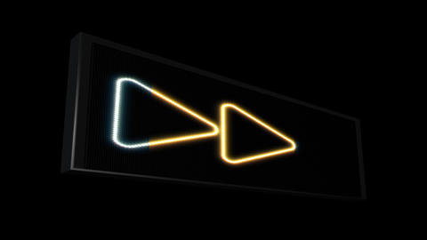 Arrows LEDS 03 stock footage