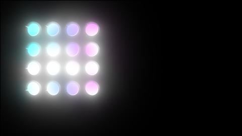Light transitions 05 Stock Video Footage