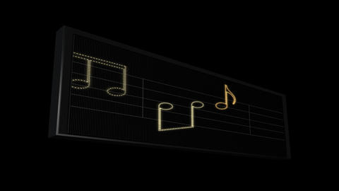LEDS Music Sheet 03 Animation