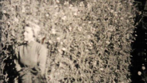 Crazy Statue In Alaska 1940 Vintage 8mm film Stock Video Footage