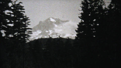Visiting Seattle Washington On Driving Trip 1940 Stock Video Footage