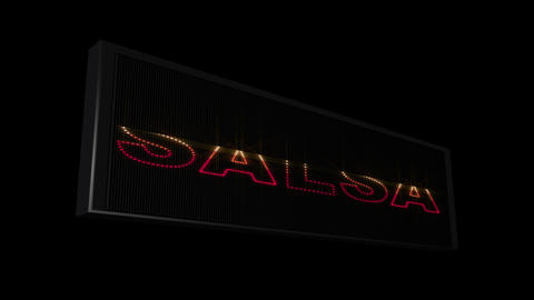 Music Styles LEDS 05 Stock Video Footage