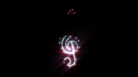 Music Key LEDS 01 Animation