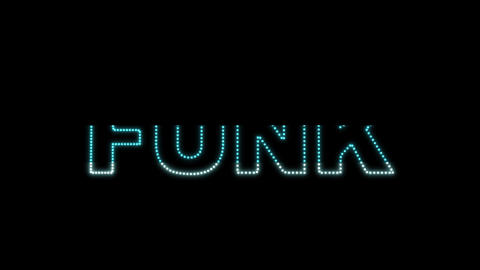 Funk LEDS 02 Stock Video Footage