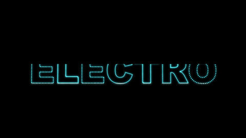 Electro LEDS 02 Stock Video Footage