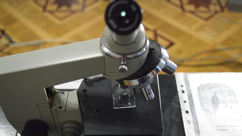Microscop Stock Video Footage
