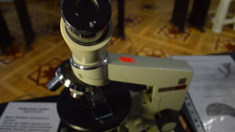 Microscop Footage