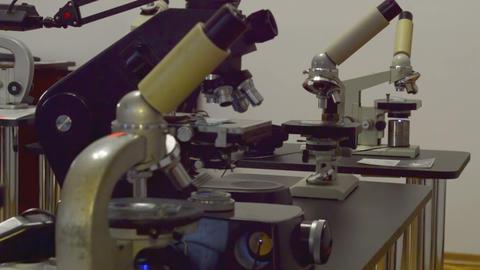 Microscop Stock Video Footage