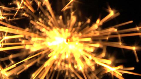 Sparkles 125 Stock Video Footage