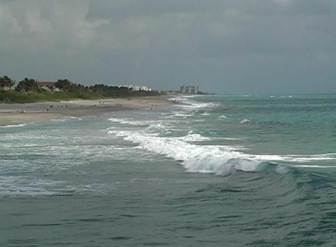 Florida Beach Stock Video Footage