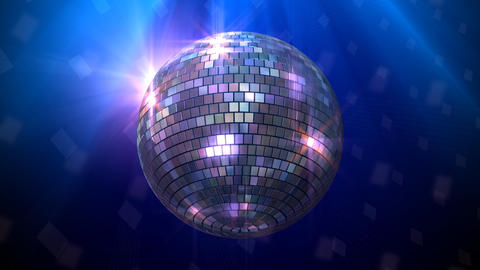 Mirror Ball Bb Stock Video Footage