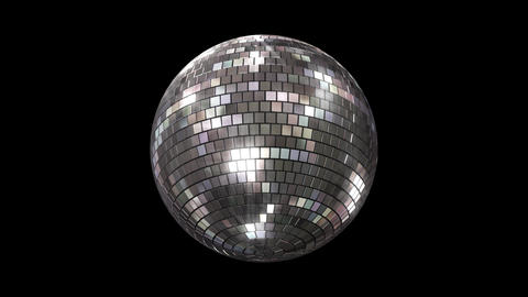 Mirror Ball Bs Stock Video Footage