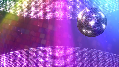 Mirror Ball Sb Stock Video Footage