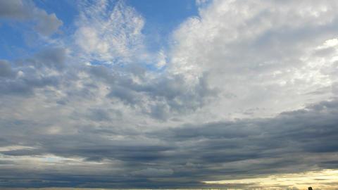 Cloud B 06 HD Stock Video Footage