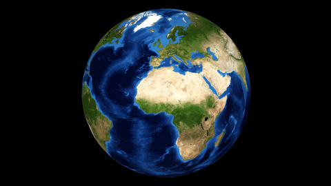 earth rotating HD Stock Video Footage