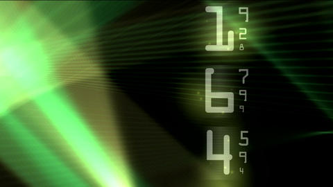 matrix new with numbers Stock Video Footage