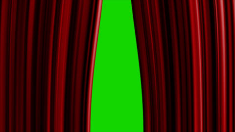 curtains HD Animation