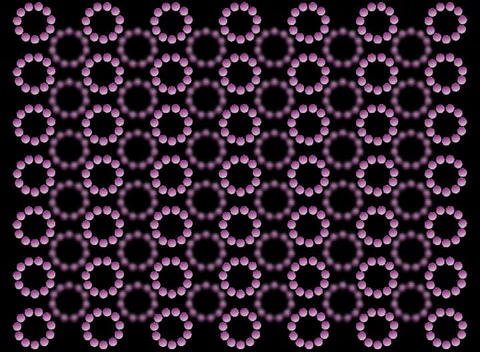 Purple Rotating Balls Animation