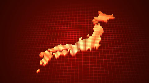 Map BlockGI J1 E Stock Video Footage