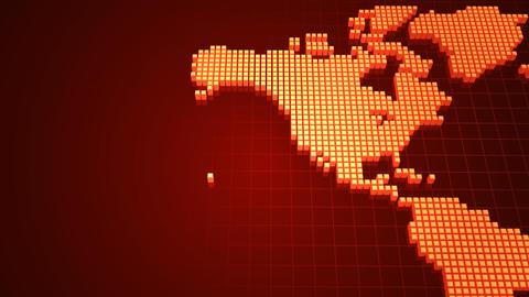 Map BlockGI W2 E Stock Video Footage