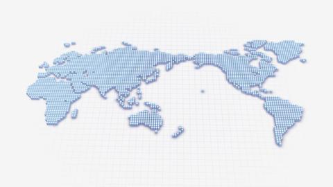 Map BlockGI W3 C Stock Video Footage