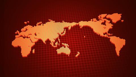 Map BlockGI W3 E Stock Video Footage