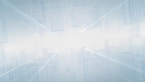 Digital Space A020 C Stock Video Footage