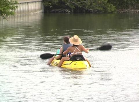 Kayak 4 Stock Video Footage
